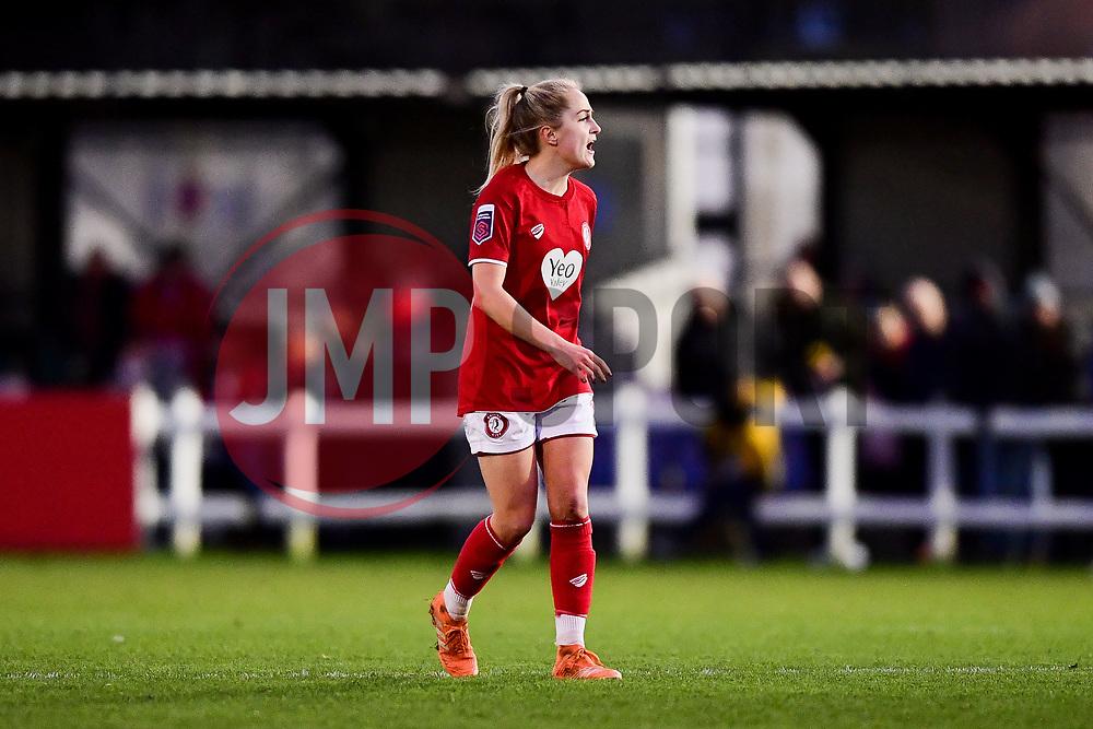 Fay Bryson of Bristol City Women - Mandatory by-line: Ryan Hiscott/JMP - 19/01/2020 - FOOTBALL - Stoke Gifford Stadium - Bristol, England - Bristol City Women v Liverpool Women - Barclays FA Women's Super League