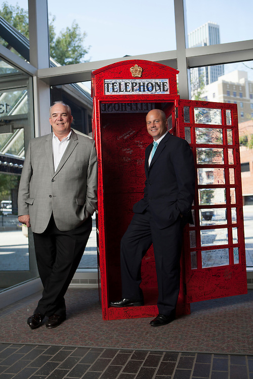 05 September 2012- Nate Dodge and David Brown are photographed at The Omaha Chamber of Commerce for promotional materials.