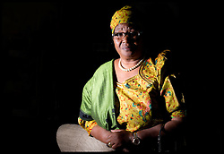 One on one portraits of The President of Malawi, Dr Joyce Banda at Brown's hotel in central London,  Friday March 22, 2013. Photo By Andrew Parsons / i-Images