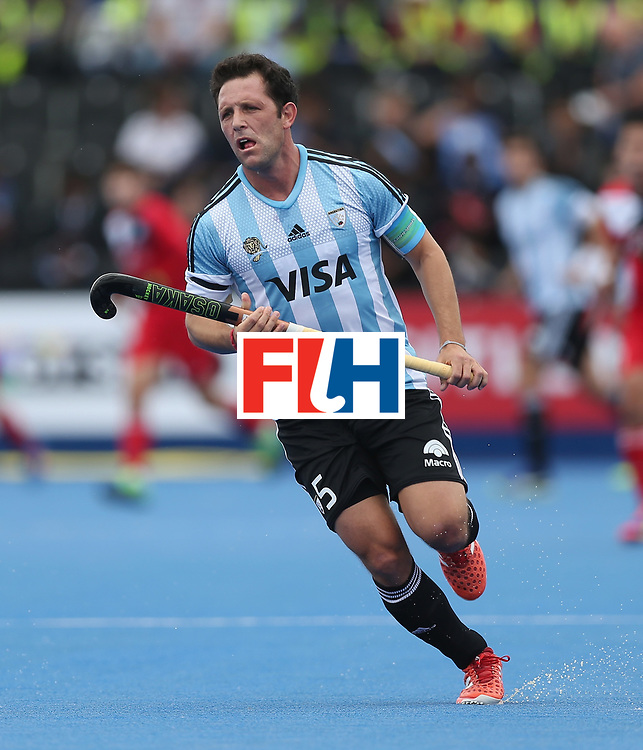 LONDON, ENGLAND - JUNE 15:  Pedro Ibarra of Argentina during the Hero Hockey World League Semi Final match between Korea and Argentina at Lee Valley Hockey and Tennis Centre on June 15, 2017 in London, England.  (Photo by Alex Morton/Getty Images)