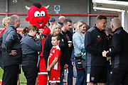 during the EFL Sky Bet League 2 match between Crawley Town and Carlisle United at the Checkatrade.com Stadium, Crawley, England on 30 September 2017. Photo by Andy Walter.