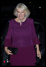 London The Duchess of Cornwall At MAN Booker Prize 26 Oct 2016