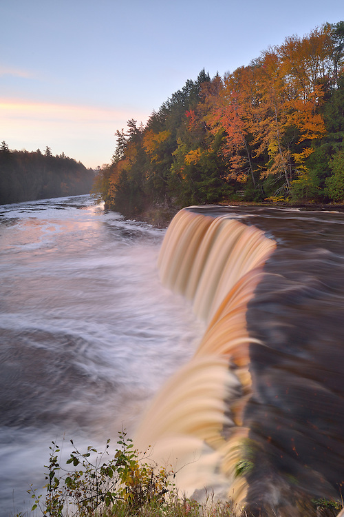 Upper Tahquamenon Falls<br /> Michigan's Eastern Upper Peninsula
