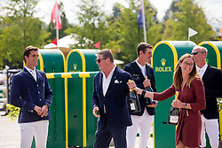 Guery Jerome, Philippaerts Olivier, Verlooy Jos, Conter Stephan<br /> Brussels Stephex Masters<br /> © Hippo Foto - Sharon Vandeput<br /> 1/09/19