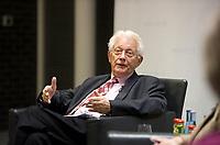 DEU, Deutschland, Germany, Berlin, 12.11.2012:<br />Dr. Horst Heidermann, ehemaliges Gesch&auml;ftsf&uuml;hrendes Vorstandsmitglied der Friedrich-Ebert-Stiftung, w&auml;hrend einer Veranstaltung der Friedrich-Ebert-Stiftung Berlin.