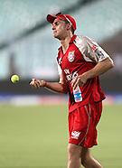 IPL Kings XI Practice Kolkata