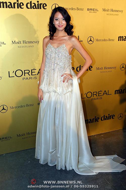 NLD/Amsterdam/20081113 - Uitreiking Prix de la Mode 2008, Miss World 2007 Zilin Zhang