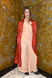 Eliza Moncrieffe at The Cartier Racing Awards 2018 held at The Dorchester, Park Lane, England. 13 November 2018. <br /> <br /> ***For fees please contact us prior to publication***