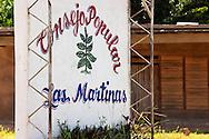 Sign in Las Martinas, Pinar del Rio, Cuba.