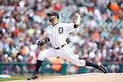 DETROIT, MI - MAY 21: David Price #14 of the Detroit Tigers pitches during the game against the Houston Astros at Comerica Park on May 21, 2015 in Detroit, Michigan. The Tigers defeated the Astros 6-5 in 11 innings. (Photo by Joe Robbins) *** Local Caption *** David Price