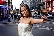 Frankfurt am Main |30.08.2012..Ewa Müller, Ex-Prostituierte, Rap- und Hip Hop-Musikerin mit dem Künstlernamen Schwesta Ewa, im Bahnhofsviertel in Frankfurt am Main...©peter-juelich.com..[No Model Release | No Property Release]