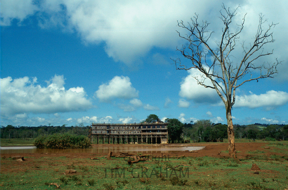 Treetops Safari lodge in Kenya, East Africa in the 1980s