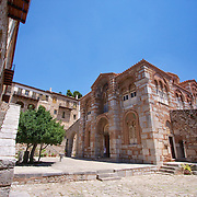 The remarkably beautiful complex of the Byzantine Monastery of Hosios Loukas. Still an active Monastery today, the site dates back to the 10th Century.