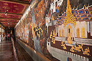 Mural in The Grand Palace; Bangkok, Thailand.