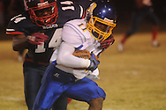 Oxford High's Glenn Gordon (11) vs. Clarksdale High in Clarksdale, Miss. on Friday, November 2, 2012. Oxford won.