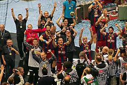 29.05.2011,  Lanxess Arena, Koeln, GER, EHF Final 4, FC Barcelona Borges (ESP) vs. Renovalia Ciudad Real (ESP), Finale, im Bild:  Champions League Sieger Barcelona EXPA Pictures © 2011, PhotoCredit: EXPA/ nph/  Mueller        ****** only for AUT, POL & SLO ****** / SPORTIDA PHOTO AGENCY