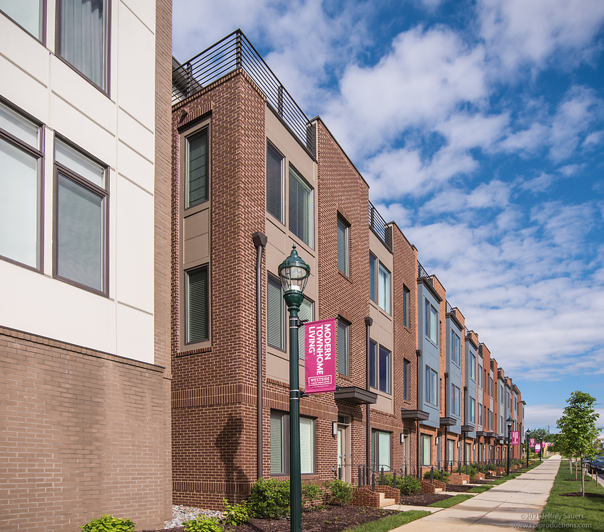 Exterior Photo of Westside at Shady Grove Metro in Rockville MD by Jeffrey Sauers of Commercial Photographics, Architectural Photo Artistry in Washington DC, Virginia to Florida and PA to New England
