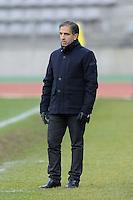 Farid Benstiti  - 20.12.2014 - PSG / Montpellier - 14eme journee de D1<br /> Photo : Andre Ferreira / Icon Sport