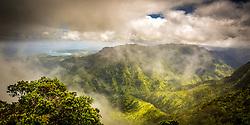 Overlooking Hanalei bay, Kauai