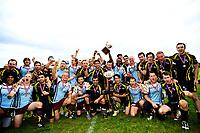Rugby Leauge , Finale NM , Norgesmesterskapet , lørdag 14. September 2013 , Voldsløkka<br /> Oslo Capitals - Bodø Barbarians<br /> Felles lagbilde med Oslo og Bodø, slik det i norsk Rugby er tradisjon for, etter kampen<br /> Foto: Sjur Stølen