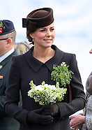 KATE & Prince William Attend St. Patrick's Day Parade 2