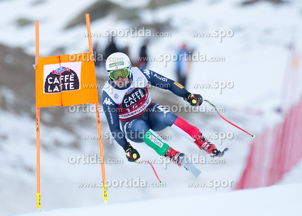 28.12.2015, Deborah Compagnoni Rennstrecke, Santa Caterina, ITA, FIS Ski Weltcup, Santa Caterina, Abfahrt, Herren, 2. Training, im Bild Peter Fill (ITA) // Peter Fill of Italy in action during the 2nd practice run of men's Downhill of the Santa Caterina FIS Ski Alpine World Cup at the Deborah Compagnoni Course in Santa Caterina, Italy on 2015/12/28. EXPA Pictures © 2015, PhotoCredit: EXPA/ Johann Groder