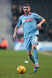 Tranmere Rovers' Ryan Lowe - Photo mandatory by-line: Nigel Pitts-Drake/JMP - Tel: Mobile: 07966 386802 01/02/2014 - SPORT - FOOTBALL - Stadium MK - Milton Keynes - MK Dons v Tranmere Rovers - Sky Bet League One