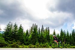 Marcel Skok competes at Sloveian Road Cycling Championship Time Trial 2020 Gorje - Pokljuka, on June 28, 2020 in Pokljuka, Slovenia. Photo by Matic Klansek Velej / Sportida