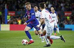 November 29, 2017 - Barcelona, Catalonia, Spain - Gerard Deulofeu during the Copa del Rey match between FC Barcelona v Real Murcia CF,i n Barcelona, on November 29, 2017. (Credit Image: © Joan Valls/NurPhoto via ZUMA Press)