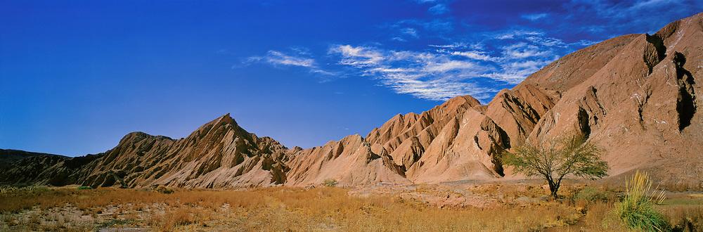Salt Mountain Range ( Cordillera de la Sal ) , San Pedro de Atacama , Chile