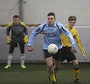 Thomsons B (blue) v Fife Thistle B - Dundee Saturday Morning FA Wintertoto 5 a sides at Soccerworld<br /> <br />  - &copy; David Young - www.davidyoungphoto.co.uk - email: davidyoungphoto@gmail.com
