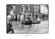 Severe flooding in North Strand, Dublin.<br />