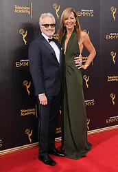 Bradley Whitford, Allison Janney bei den Creative Arts Emmy Awards in Los Angeles / 100916<br /> <br /> <br /> *** at the Creative Arts Emmy Awards in Los Angeles on September 10, 2016 ***
