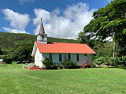 Father Damien, Our Lady of Sorrows Church, 1874, Molokai, Hawaii