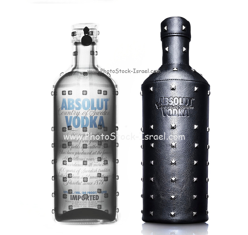 Absolut Vodka under x-ray