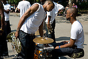 Band at Washington Square Park, New York