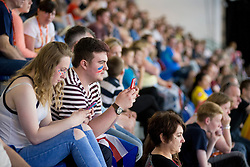 Spectators  at 2015 IPC Swimming World Championships -