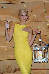 """Asley"" Launch.<br /> Ashley Roberts attends a Photo call to Promote her new perfume ""Asley""..<br /> Held at The Folly, London, United Kingdom. Wednesday, 12th March 2014. Picture by Chris Joseph / i-Images"