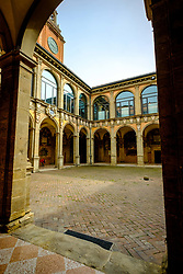 Biblioteca comunale dell'Archiginnasio, Bologna, Italy<br /> <br /> (c) Andrew Wilson | Edinburgh Elite media