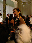 Nathalie Massanet, British Fashion awards 2005. V. & A. Museum. Cromwell Rd. London.   10  November 2005 . ONE TIME USE ONLY - DO NOT ARCHIVE © Copyright Photograph by Dafydd Jones 66 Stockwell Park Rd. London SW9 0DA Tel 020 7733 0108 www.dafjones.com