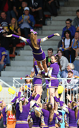 12.06.2011, Hohe Warte, Wien, AUT, AFL Halbfinale, Raiffeisen Vikings vs Turek Graz Giants, im Bild Cheerleader Vikings, (Raiffeisen Vikings, Cheer Team) ,  EXPA Pictures © 2011, PhotoCredit: EXPA/ T. Haumer