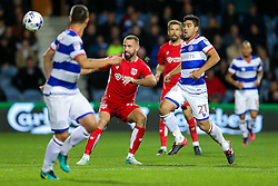 Aaron Wilbraham of Bristol City in action - Rogan Thomson/JMP - 18/10/2016 - FOOTBALL - Loftus Road Stadium - London, England - Queens Park Rangers v Bristol City - Sky Bet EFL Championship.