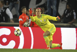 November 5, 2017 - Guimaraes, Guimaraes, Spain - Benfica's Belgian goalkeeper M. Svilar during the Premier League 2017/18 match between Vitoria SC and SL Benfica, at Dao Afonso Henriques Stadium in Guimaraes on November 5, 2017. (Credit Image: © Dpi/NurPhoto via ZUMA Press)