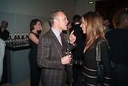 GRAHAM NORTON; HEATHER KERZNER, Opening of Bailey's Stardust - Exhibition - National Portrait Gallery London. 3 February 2014