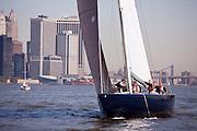 America II sailing in the New York Classic Week regatta.