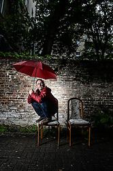 Dani Levy posiert in Berlin Schöneberg / 061016<br /> <br /> *** Dani Levy fotoshooting in Berlin, Germany, October 6, 2016 ***