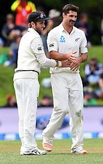 Christchurch-Cricket, New Zealand v Pakistan, day 2