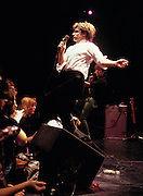 Photo of Bono Live - Hammersmith - concert 1981