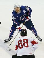 Stephane Roussel - 03.05.2015 - France / Suisse - Championnat du Monde de Hockey sur Glace -Prague <br />Photo : Xavier Laine / Icon Sport