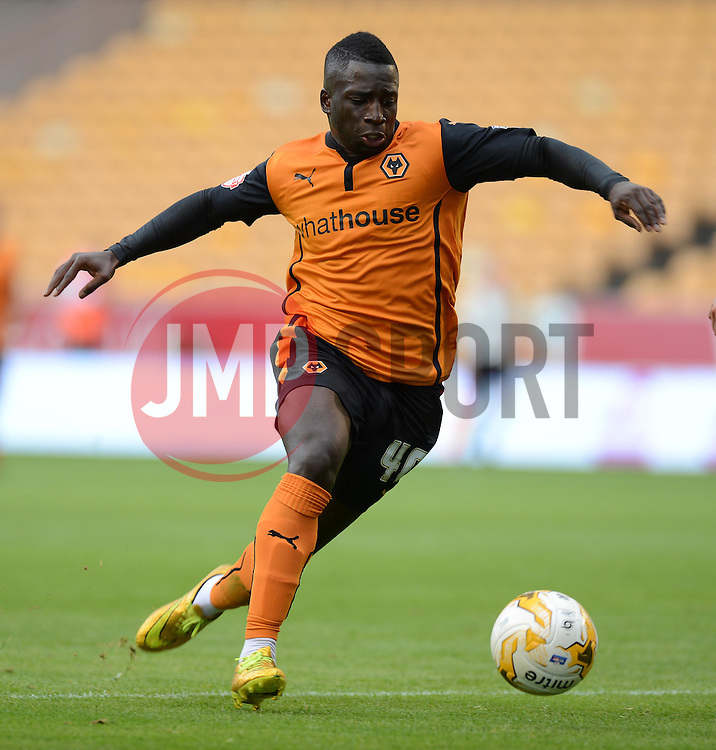Wolverhampton's Nouha Dicko  - Photo mandatory by-line: Alex James/JMP - Tel: Mobile: 07966 386802 2/08/2014 - SPORT - FOOTBALL -  Wolverhampton - Molineux Stadium  -   Wolverhampton vs  Celta Vigo - preseason